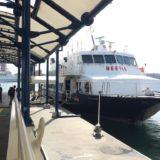 福岡から釜山へ高速船ビートルで移動