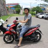 セブ島をバイクで観光!サンペドロ要塞とトップス