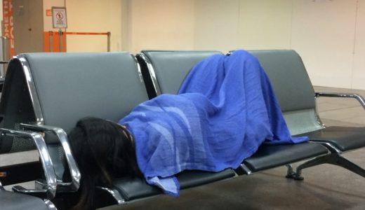 マレーシア国際空港でのドキドキワクワク空港泊