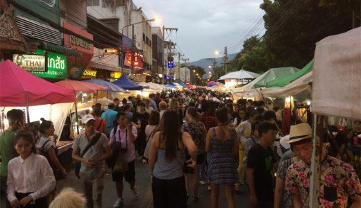 チェンマイ観光ならサンデーマーケットへいこう!