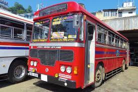 スリランカのバスについて