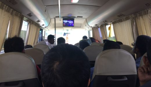 タイのバンコクからスリランカのコロンボへの移動!