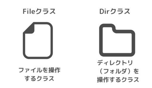 RubyのFileクラスとDirクラスの特徴と使い方