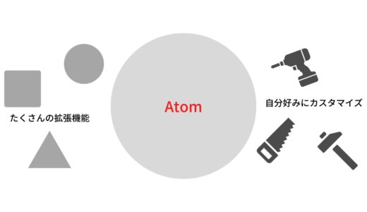 Atomについてざっくりと解説する-Atomが作られた目的やAtomのメリット-